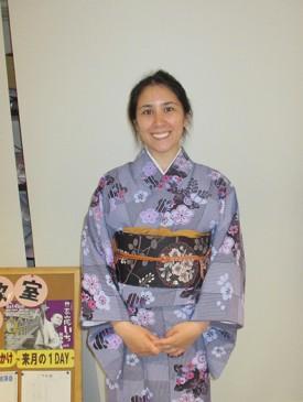 日本文化が好きで興味を持ちました