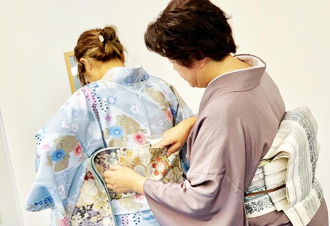 【資格が取れるクラスあり】金山校では一般社団法人日本和装協会の認定試験が受けられるクラスが揃っており、資格取得することができます。