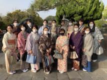 きものdeおでかけ 電車とモノレールで鎌倉