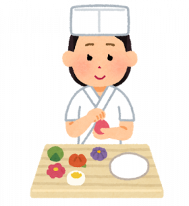 job_sweets_wagashi_syokunin_woman