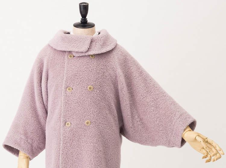 きもの用の防寒コート