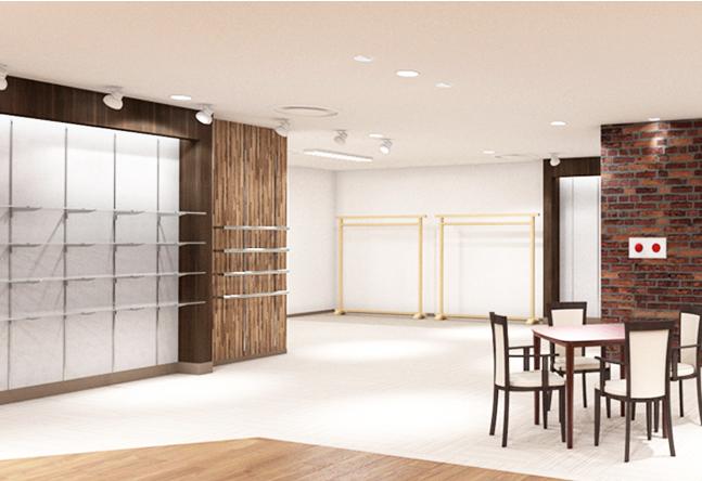 【キレイな室内】7月オープンの新しいお教室で、新しいこと一緒に始めましょう! 広々快適空間です。